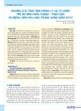 Nghiên cứu tình hình bệnh lý và tử vong trẻ sơ sinh non tháng - thấp cân tại Bệnh viện Phụ sản Trung ương năm 2010