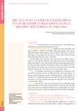 Hiệu quả nuôi cấy phôi giữa hai hệ thống tủ cấy benchtop có hoặc không sử dụng khí trộn: Một nghiên cứu chia noãn