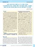 Hiệu quả của dụng cụ tử cung chứa levonorgestrel trong điều trị rong kinh - cường kinh và đau bụng kinh do lạc nội mạc tử cung