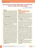 Hiệu quả FSH tái tổ hợp trong điều trị vô sinh nam do bất thường tinh trùng nặng