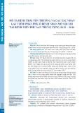 Mô tả hình thái tổn thương và các tác nhân gây viêm phần phụ ở bệnh nhân mổ nội soi tại Bệnh viện Phụ sản Trung ương 2015-2016