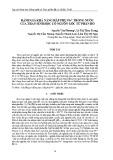 Đánh giá khả năng hấp phụ Pb2+ trong nước của than sinh học có nguồn gốc từ phân bò