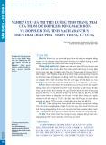 Nghiên cứu giá trị tiên lượng tình trạng thai của thăm dò doppler động mạch rốn và doppler ống tĩnh mạch Arantius trên thai chậm phát triển trong tử cung