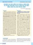 Nghiên cứu đặc điểm của rubella bẩm sinh tại trung tâm điều trị và chăm sóc sơ sinh Bệnh viện Phụ sản Trung ương