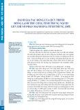 Đánh giá tác động của quy trình đông lạnh thủ công tinh trùng người lên chỉ số phân mảnh DNA tinh trùng (DFI)
