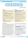 Đánh giá hiệu quả điều trị hỗ trợ chất lượng tinh trùng bằng Fitogra-f tại Bệnh viện Phụ sản Trung ương