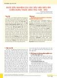 Bước đầu nghiên cứu các dấu hiệu siêu âm chẩn đoán trước sinh phù thai rau