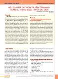 Hiệu quả của oxytocin truyền tĩnh mạch trong dự phòng băng huyết sau sinh