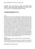 Nghiên cứu giá trị của siêu âm bơm dịch trong chẩn đoán bất thường tử cung - vòi tử cung ở các trường hợp vô sinh