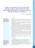 Nghiên cứu một số yếu tố liên quan đến kết quả sử dụng vòng nâng cổ tử cung trong điều trị dự phòng sẩy thai và sinh non ở Bệnh viện Phụ sản Hải Phòng