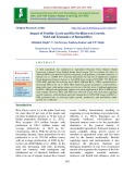 Impact of fertility levels and bio-fertilizers on growth, yield and economics of Basmati rice