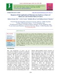 Response of soil application of diatomaceous earth as a source of silicon on leaf nutrient status of Guava