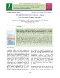 Microbial air quality in port Harcourt, Nigeria