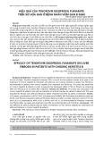 Hiệu quả của Tenofovir disoproxil fumarate trên xơ hóa gan ở bệnh nhân viêm gan B mạn