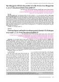 Tạo dòng gene mã hóa cho protein vỏ miền III của virus Dengue típ 1, 2, 3, 4 vào plasmid biểu hiện pGEX-2T