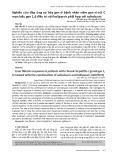 Nghiên cứu đáp ứng xơ hóa gan ở bệnh nhân viêm gan vi-rút C mạn kiểu gen 1,6 điều trị với ledipasvir phối hợp với sofosbuvir