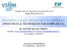 Bài giảng Nguyên lý và kỹ thuật siêu âm Doppler