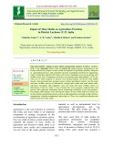 Impact of mass media on agriculture practices in district Lucknow (U.P), India