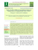 Studies on the effect of different crop establishment methods and weeding practices on transplanted paddy variety CO (R) 50