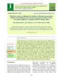 Microbial activity as influenced by sunflower residue incorporation, method of establishment and nutrient management of rice in ricegreengram sunflower cropping system in Odisha, India