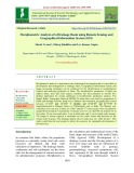 Morphometric analysis of a drainage basin using remote sensing and geographical information system (GIS)