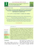 Effect of dietary nano zinc oxide supplementation on haematological parameters, serum biochemical parameters and hepato-renal bio-markers in crossbred calves