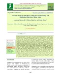 Economic analysis of Makhana cultivation in Darbhanga and Madhubani districts of Bihar, India