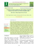 Evaluation of garlic germplasm for yield attributes and quality characters from niche area of district Jalandhar, India