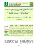 Socio-economic and environment benefits of soil and water conservation technologies in India: A critical review