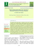 Impact of integrated farming system approach on sustainable production for farming community