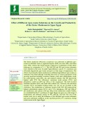 Effect of different agro-wastes substrates on the growth and productivity of the oyster mushroom in Upper Egypt