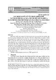 Xác định nguyên tố vết trong không khí tại thành phố Đà Lạt qua chỉ thị trên rêu Barbula bằng phương pháp huỳnh quang tia X phản xạ toàn phần