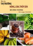 Bản tin Thị trường Nông, lâm, thủy sản – Số ra ngày 10/6/2020