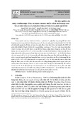 Hiệu chỉnh hiệu ứng matrix trong phân tích huỳnh quang tia X cho mẫu Cr-Fe-Ni bằng thuật toán Claisse-Quintin