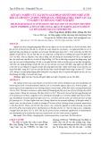 Kết quả nghiên cứu xây dựng giải pháp chuyển đổi nghề lưới kéo của huyện Vân Đồn, tỉnh Quảng Ninh khai thác thủy sản tại vùng biển ven bờ sang nghề nuôi biển
