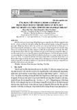 Ứng dụng viễn thám và độ đo cảnh quan trong phân tích xu thế biến động sử dụng đất khu vực huyện Văn Chấn, tỉnh Yên Bái giai đoạn 2008-2017