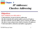 Lecture TCP-IP protocol suite (3/e): Chapter 5 - Behrouz Forouzan