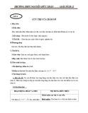 Giáo án Giải tích 12: Cực trị của hàm số - Trường THPT Nguyễn Hữu Thuận