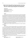 Nhân tố ảnh hưởng đến thu nhập hộ gia đình nuôi trồng thủy sản ven biển huyện Thăng Bình, tỉnh Quảng Nam
