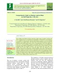 Comprehensive study on biochar and its effect on soil properties: A review