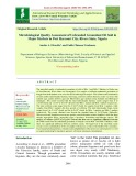 Microbiological quality assessment of unbranded groundnut oil sold in major markets in Port Harcourt city, Rivers State, Nigeria