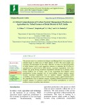 A critical comprehension of carbon neutral management practices in agriculture by tribal farmers of Betul district of M.P, India