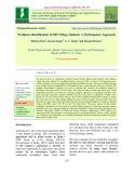 Problems identification of DFI Village Jakhani: A participatory approach