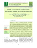 Sustainable Aquaponics system and its challenges: A review