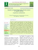 Ergonomic Assessment of upper limbs of workers involved in vegetable cultivation