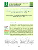 Appraisement of yield and seed production of okra (Abelmoschus esculentus L. Moench) cv. arka anamika at varying sowing dates