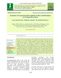 Evaluation of evapotranspiration methods for rice yield simulation in a tropical river basin
