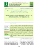 Chickpea growers' knowledge about chickpea production technology in Junagadh district of Gujarat State, India