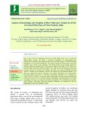 Analysis of knowledge and adoption of rice cultivators trained by KVKs in central plain zone of Uttar Pradesh, India