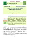 Assessment of the soil chemical properties, macro and micro nutrients using soil test kit and soil health card distribution in zunheboto District of Nagaland, India